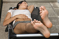 small preview pic number 5 from set 2126 showing Allyoucanfeet model Liliana