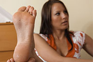 small preview pic number 3 from set 2129 showing Allyoucanfeet model Sandy
