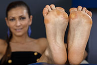 small preview pic number 5 from set 2132 showing Allyoucanfeet model Escada