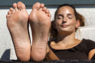 small preview pic number 6 from set 2134 showing Allyoucanfeet model Janina