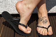 small preview pic number 1 from set 2143 showing Allyoucanfeet model Aubrey