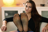 small preview pic number 1 from set 2153 showing Allyoucanfeet model Jolina