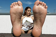 small preview pic number 4 from set 2154 showing Allyoucanfeet model July - New Model