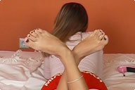 small preview pic number 2 from set 216 showing Allyoucanfeet model Tara