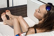 small preview pic number 3 from set 2164 showing Allyoucanfeet model Niki