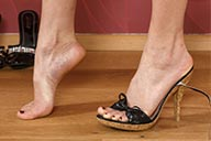 small preview pic number 2 from set 2167 showing Allyoucanfeet model Leoni