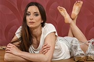 small preview pic number 5 from set 2167 showing Allyoucanfeet model Leoni