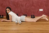 small preview pic number 6 from set 2167 showing Allyoucanfeet model Leoni