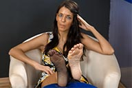 small preview pic number 3 from set 2168 showing Allyoucanfeet model Hannah