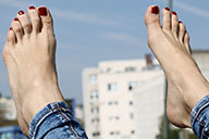 small preview pic number 3 from set 2174 showing Allyoucanfeet model Samantha