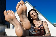 small preview pic number 5 from set 2177 showing Allyoucanfeet model Gina