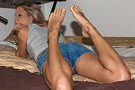 small preview pic number 3 from set 2182 showing Allyoucanfeet model Janine