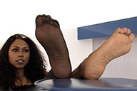 small preview pic number 3 from set 2207 showing Allyoucanfeet model Asmara