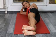small preview pic number 1 from set 2228 showing Allyoucanfeet model Janina