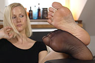 small preview pic number 3 from set 2237 showing Allyoucanfeet model MariaB