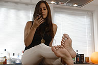 small preview pic number 1 from set 2249 showing Allyoucanfeet model Lina