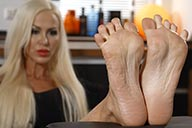small preview pic number 4 from set 2262 showing Allyoucanfeet model Leyla