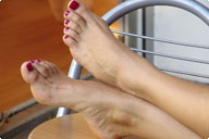 small preview pic number 4 from set 227 showing Allyoucanfeet model Karine