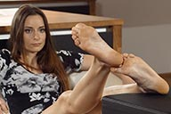 small preview pic number 5 from set 2271 showing Allyoucanfeet model Leoni
