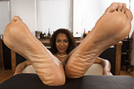 small preview pic number 5 from set 2277 showing Allyoucanfeet model Yazzi
