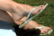 small preview pic number 1 from set 229 showing Allyoucanfeet model Venetia