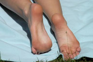 small preview pic number 3 from set 229 showing Allyoucanfeet model Venetia
