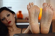 small preview pic number 5 from set 2291 showing Allyoucanfeet model Becky