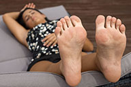 small preview pic number 6 from set 2308 showing Allyoucanfeet model Kayla