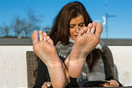 small preview pic number 3 from set 2326 showing Allyoucanfeet model Nelly