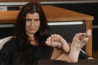 small preview pic number 6 from set 2327 showing Allyoucanfeet model Nelly