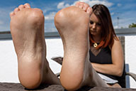 small preview pic number 4 from set 2332 showing Allyoucanfeet model Josy