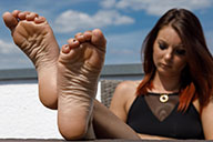 small preview pic number 5 from set 2332 showing Allyoucanfeet model Josy