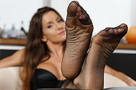 small preview pic number 2 from set 2341 showing Allyoucanfeet model Katrin