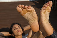 small preview pic number 6 from set 2361 showing Allyoucanfeet model Mandy