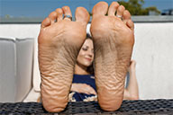 small preview pic number 5 from set 2369 showing Allyoucanfeet model Chris