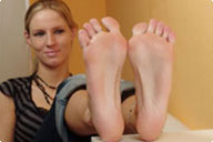 small preview pic number 4 from set 237 showing Allyoucanfeet model Joyce