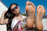 small preview pic number 3 from set 2377 showing Allyoucanfeet model Becky