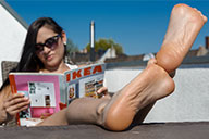 small preview pic number 6 from set 2377 showing Allyoucanfeet model Becky
