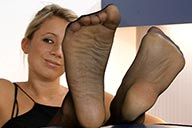 small preview pic number 1 from set 2380 showing Allyoucanfeet model Janine