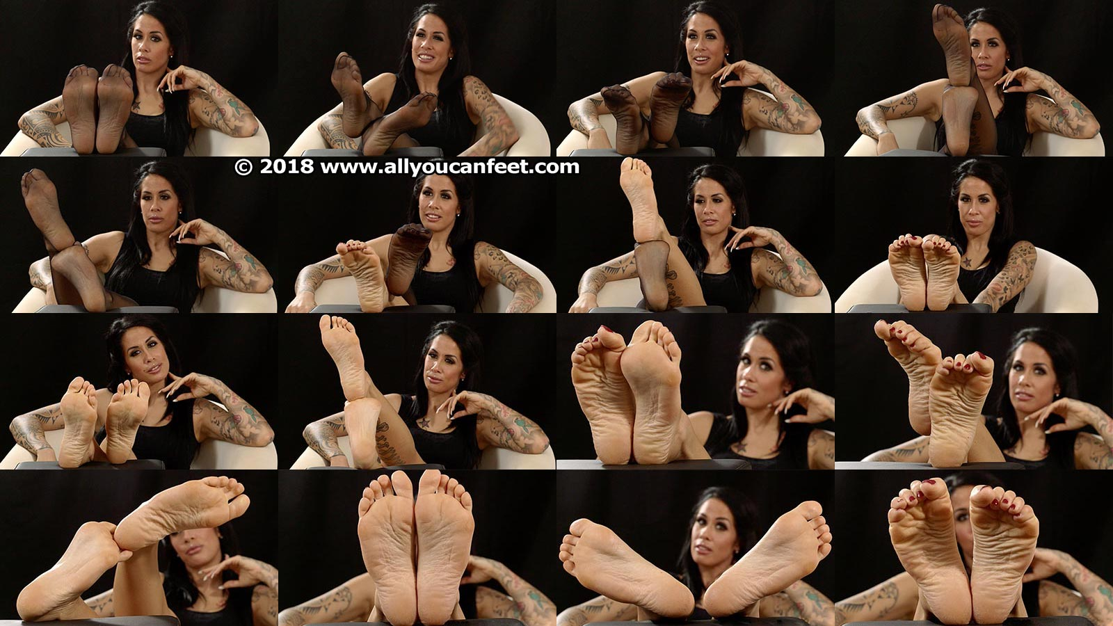 big preview pic from set 2388 showing Allyoucanfeet model Snooki