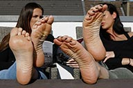 small preview pic number 5 from set 2397 showing Allyoucanfeet model Ricci