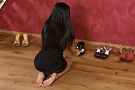 small preview pic number 2 from set 2418 showing Allyoucanfeet model Dani