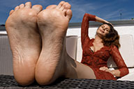 small preview pic number 3 from set 2429 showing Allyoucanfeet model Ola - New Model