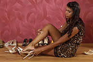 small preview pic number 2 from set 2435 showing Allyoucanfeet model Ciara
