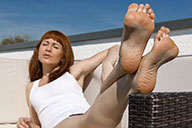 small preview pic number 2 from set 2440 showing Allyoucanfeet model Barbara - New Model