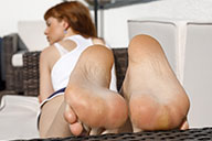 small preview pic number 6 from set 2440 showing Allyoucanfeet model Barbara - New Model
