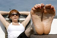 small preview pic number 6 from set 2441 showing Allyoucanfeet model Barbara