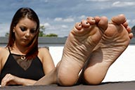 small preview pic number 1 from set 2443 showing Allyoucanfeet model Josy