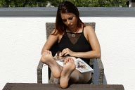 small preview pic number 5 from set 2443 showing Allyoucanfeet model Josy