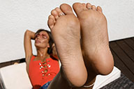 small preview pic number 6 from set 2447 showing Allyoucanfeet model Carmen